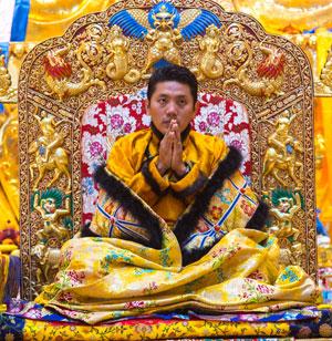 His Holiness Kyabje Trijang Choktrul